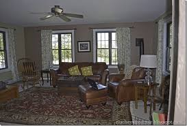 Coastal Cottage Family Room Before  After Four Generations - Cottage style family room