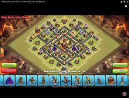 layout design th7 clan war base design from th5 to th10 2015 clan ascendance