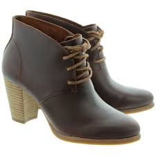 ugg womens mackie boots black ugg mackie lace ankle boots in chestnut in chestnut