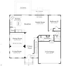 Dr Horton Home Floor Plans The Tuscany Blue Ridge Shadows Single Family Front Royal