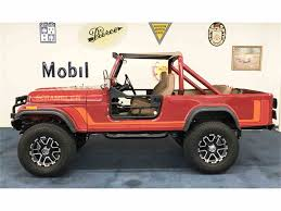 mobil jeep offroad 1981 jeep cj8 scrambler for sale classiccars com cc 996103