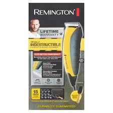 remington virtually indestructible haircut u0026 beard trimmer 15