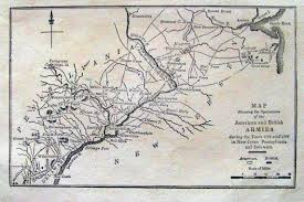 New Jersey On A Map Of The Usa by 1810 U0027s Pennsylvania Maps