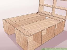 Wood Frame Bed 3 Ways To Build A Wooden Bed Frame Wikihow