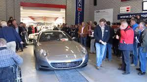 car junkyard netherlands ferrari 612 scaglietti on car auction very low bids dutch
