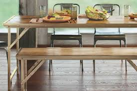 table with bench seat dining bench seats vs chairs which is better compare factory