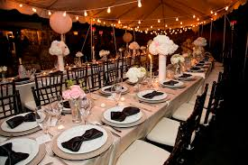Rehearsal Dinner Decorations Appealing Great Gatsby Party Decorations With Chairs And