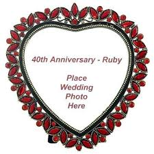 40th wedding anniversary gifts for parents 40th wedding anniversary traditional gift for parents 28 images