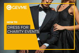 how to dress for charity events