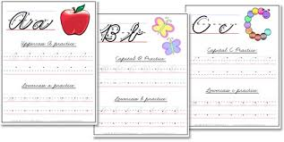 a z cursive handwriting worksheets confessions of a homeschooler