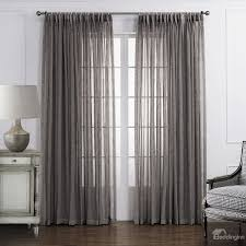 Privacy Sheer Curtains Popular Classic Polyester And Linen Custom Sheer Curtain