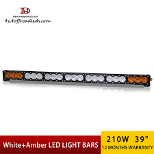 Led Light Bar Utv by New Amber White Led Light Bars For Utv Atv Tractor Ford Gmc Truck