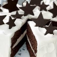 white chocolate truffle and chocolate fudge layer cake recipe