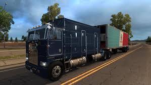 kenworth k100 kenworth k100 ats 1 6 x american truck simulator mods