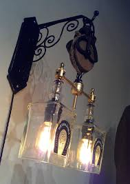 recycled chandeliers recycled wine bottle liquor bottle hanging pendant sconce