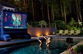 15 wonderful outdoor home theater decor