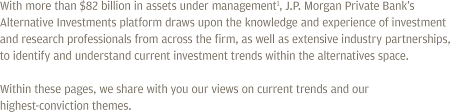 finding opportunities with alternative investments