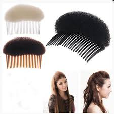 hair puff makeup comb hair brush pro hair puff paste heightening hairstyle