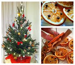 homemade dried fruit christmas tree decoration intuition and design