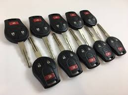 nissan rogue key fob battery change used nissan juke keyless entry remotes fobs for sale