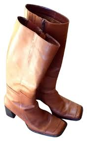 womens leather boots size 12 wide structure rust color brand womens brown leather boots booties size