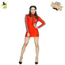 Halloween Costume Race Car Driver Womens Nascar Costume Ebay