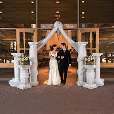 wedding arches and columns wholesale wedding columns gossamer draping get the look of your dreams