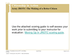 jrotc army uniform guide energizer what is your name and rank reflection ppt video