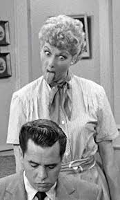 i love lucy memes don t forget the gesture of your hands around their neck lol