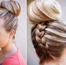 hairstyles with a hair donut donut bun hairstyles for long hair well done for made himself