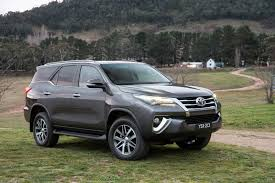 toyota sport utility vehicles toyota has unveiled the all new fortuner suv in australia and