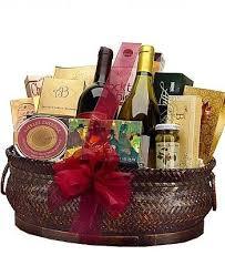 wine baskets delivered gourmet extravagance fruit and wine basket 189 95 same day delivery