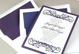 layered wedding invitations eggplant wedding invitations navy eggplant and white layered