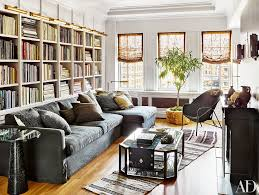 the living room in nate berkus and jeremiah brent u0027s new york city