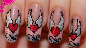 Migi Nail Art Design Ideas Nail Design Heart Angel Migi Nail Art Pens Video Dailymotion