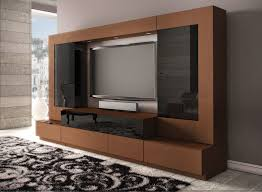 Perfect Tv Stand With Showcase Designs For Liv  Within - Showcase designs for small living room