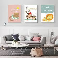 Monkey Baby Room Popular Canvas Painting Baby Room Buy Cheap Canvas Painting Baby