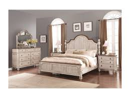 Flexsteel Wynwood Collection Plymouth Cottage King Poster Bed With - Bedroom furniture plymouth