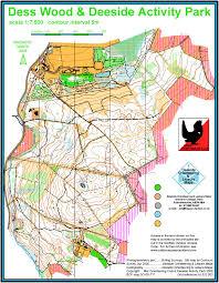 Stirling Scotland Map Dess Mar Orienteering Club