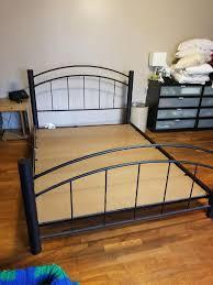 Bed Frame Furniture Metal Bed Frame Furniture In Shoreline Wa