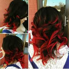 hambre hairstyles hair color trends for 2018 red ombre hairstyles red ombre hair with