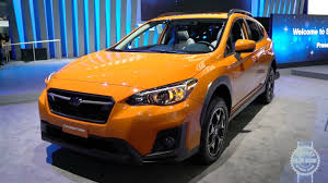 subaru orange crosstrek 2018 subaru crosstrek 2017 new york auto show youtube