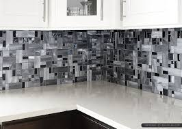 modern black glass metal backsplash tile backsplash com
