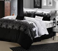appealing pictures of black white and purple bedroom for your