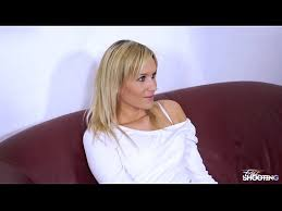 Fucking In The Sofa Fakeshooting Pretty Blonde In Panties With Ugly Fake Agent On