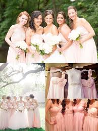 blush colored bridesmaid dress top 10 colors for bridesmaid dresses tulle chantilly wedding