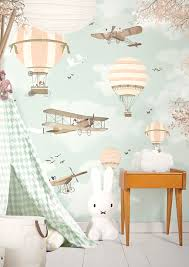 little hands wallpaper bring magic into your kids room petit