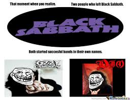 Black Sabbath Memes - black sabbath by recyclebin meme center