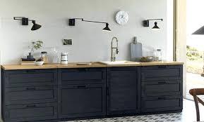 leroy merlin meuble de cuisine meuble de cuisine noir mattdooley me