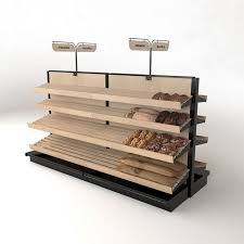 what of wood is best for shelves wooden bakery store island display rack with 20 shelves 96w 54h